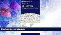 Big Deals  Rand McNally Austin Texas: Local: Georgetown/Round Rock (Rand McNally Folded Map: