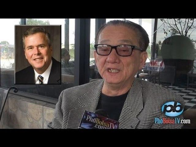 """Nhà tiên tri Trần Dần: """"Tổng thống 45 của nước Mỹ sẽ là TT Jeb Bush."""""""