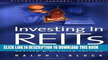 [BOOK] PDF Investing in REITS: Real Estate Investment Trusts - Revised and Updated Edition (REIT)