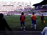 bresil algerie Ronaldinho et kaka à l'échauffement