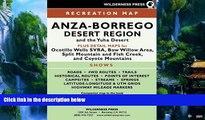 Big Deals  MAP Anza-Borrego Desert Region  Best Seller Books Best Seller