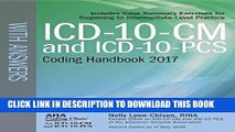 [PDF] ICD-10-CM and ICD-10-PCS Coding Handbook, with Answers, 2017 Rev. Ed. Full Collection
