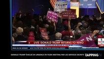 Donald Trump évacué d'urgence par les services secrets en plein meeting (Vidéo)