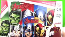 Marvel Avengers Sürpriz Yumurta Açma Hulk Challenge part1