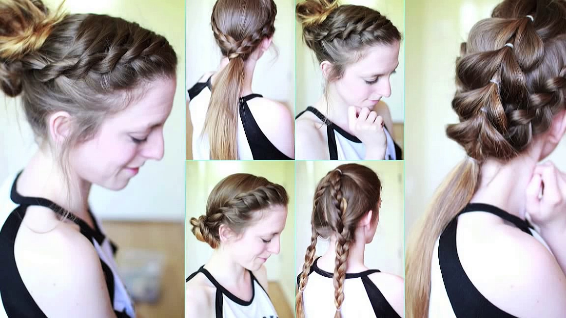 Workout / Active / Gym Hairstyles | Workout Hairstyles