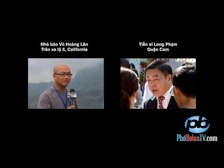 Phỏng vấn ƯCV tiến sĩ Long Phạm trong ngày bầu cử sơ bộ 3/6/2014