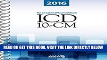 [FREE] EBOOK ICD-10-CM 2016: The Complete Official Draft Code Set (Icd-10-Cm the Complete Official