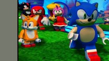 NEW Lego Dimensions Sonic the hedgehog image (Shadow, Tails, knuckles, Amy and Sonic)