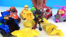 PAW PATROL Slime Toilet Witch Spell, Toy Hunt Surprises, Skye, Chase, Ryder, Launch n Roll / TUYC