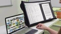 SPUD, el monitor de 24 pulgadas que se pliega como un paraguas y cabe en el bolso