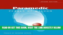 [READ] EBOOK Paramedic Pearls Of Wisdom (Pearls of Wisdom (Jones and Bartlett)) ONLINE COLLECTION