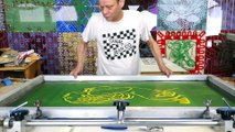JEAN-PIERRE SERGENT AT WORK III PART 5: THE SCREEN PRINTING #2