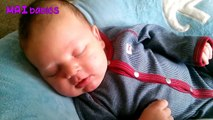 Cutest Babies Smiling While Sleeping Compilation 2016  - Funny Baby Videos