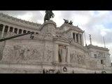 Roma - 4 Novembre, Pinotti, orgoglio e gratitudine alle nostre Forze armate (04.11.16)
