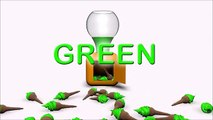 Fun Play and Learn Colours with Gumball Machine Creative Animation for Children Kids