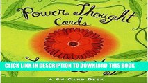 Best Seller Power Thought Cards: A 64 Card Deck (Box Set) Free Read