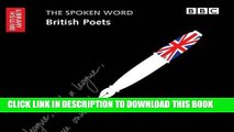 Best Seller The Spoken Word: British Poets (British Library - British Library Sound Archive) Free