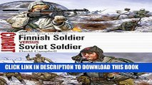 Ebook Finnish Soldier vs Soviet Soldier: Winter War 1939-40 (Combat) Free Download