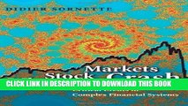 [DOWNLOAD] PDF Why Stock Markets Crash: Critical Events in Complex Financial Systems Collection