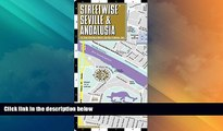 Deals in Books  Streetwise Seville Map - Laminated City Center Street Map of Seville, Spain