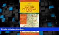 Deals in Books  Safari Planning Map to East and Southern Africa: Okavango Delta to Victoria Falls,