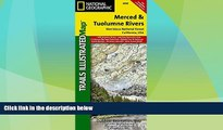 Deals in Books  Merced and Tuolumne Rivers [Stanislaus National Forest] (National Geographic