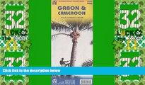 Buy NOW  Cameroon 1:1,500,000 and Gabon 1:950,000 Travel Map (International Travel Maps)  Premium