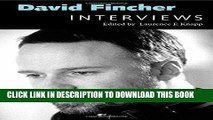 [PDF] David Fincher: Interviews (Conversations with Filmmakers Series) Full Collection