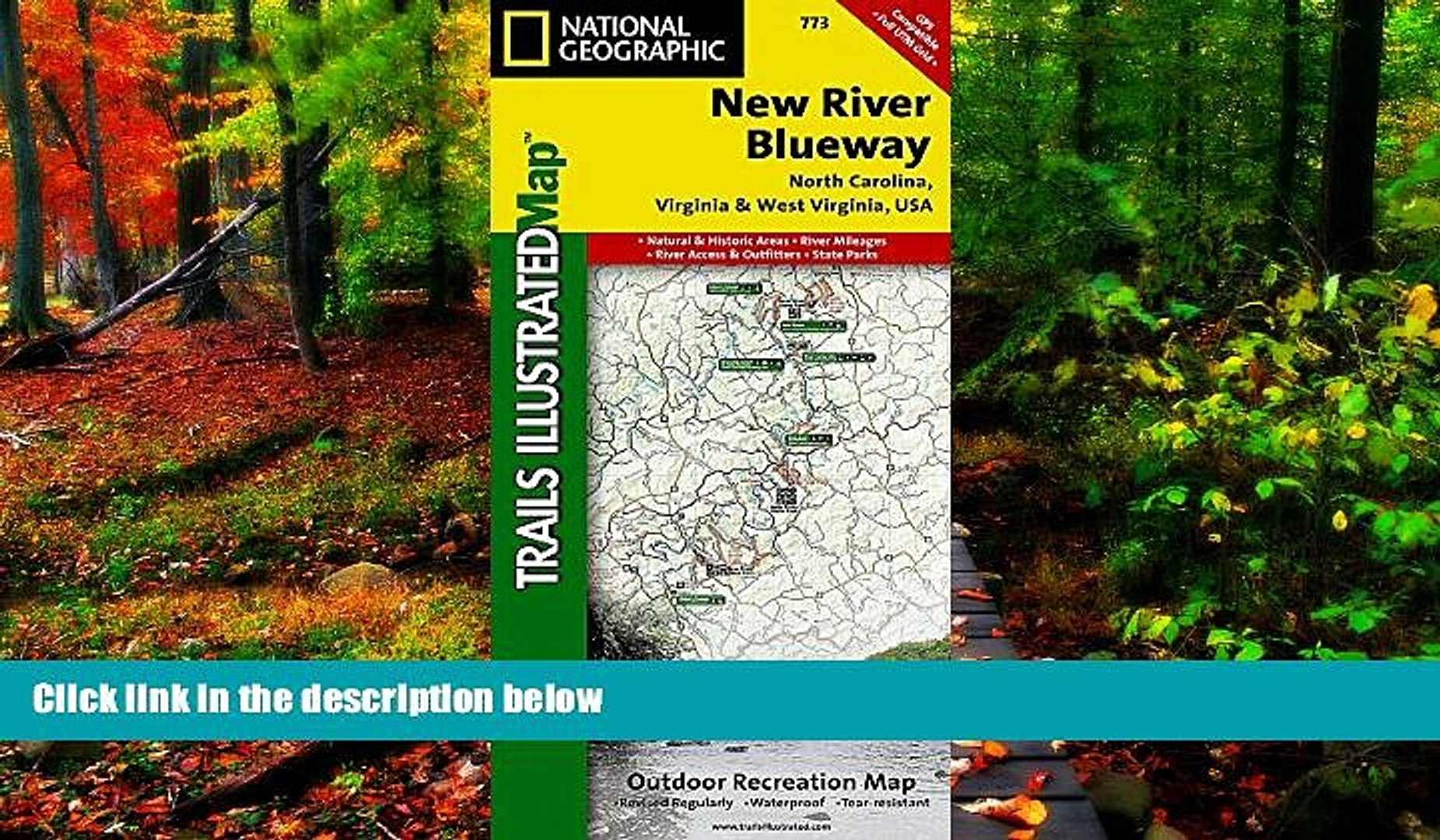 Best Deals Ebook  New River Blueway (National Geographic Trails Illustrated Map)  Most Wanted