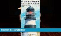 Best Buy Deals  Northwest Lighthouses Illustrated Map   Guide: Oregon, Washington   Alaska  Full