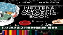 Read Now Netter s Anatomy Coloring Book: with Student Consult Access, 2e (Netter Basic Science)