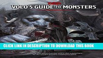 [PDF] Volo s Guide to Monsters Popular Collection