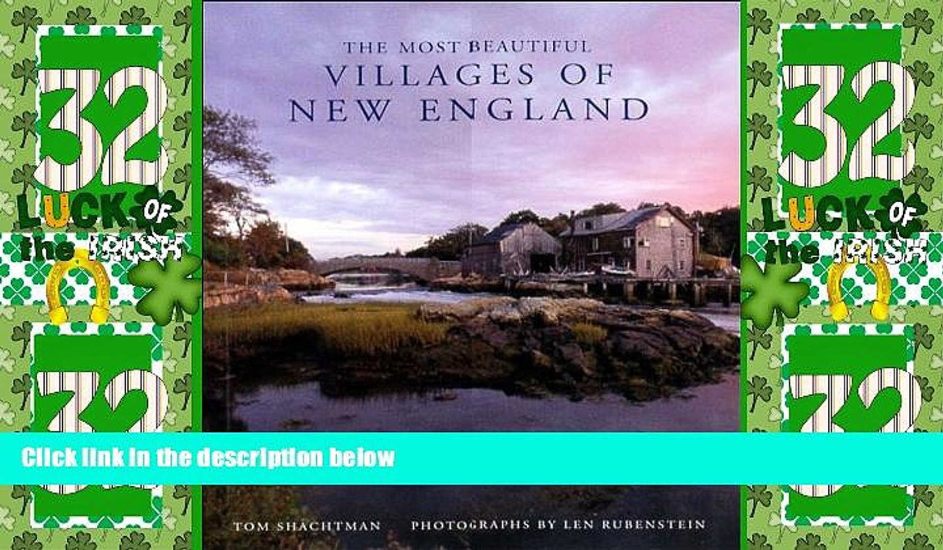 Deals in Books  The Most Beautiful Villages of New England (Most Beautiful Villages)  Premium