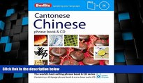 Deals in Books  Berlitz Cantonese Chinese Phrase Book   CD (Chinese Edition)  Premium Ebooks