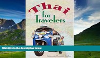 Best Buy Deals  Thai for Travelers  Full Ebooks Most Wanted