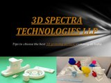 3D Printing Services in India – 3D Spectra Technologies LLP