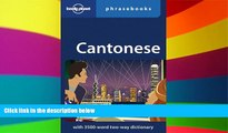 Must Have  Lonely Planet Cantonese Phrasebook  Most Wanted