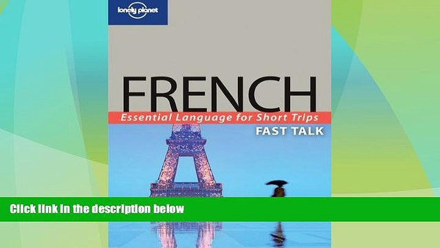 Buy NOW  Lonely Planet Fast Talk French  Premium Ebooks Best Seller in USA