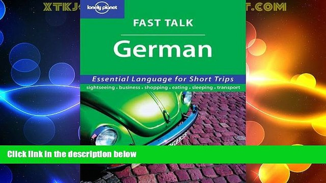 Buy NOW  Fast Talk German (Lonely Planet)  Premium Ebooks Online Ebooks