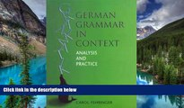 Ebook Best Deals  German Grammar in Context (Languages in Context) (German Edition)  Most Wanted