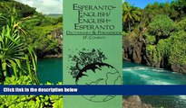 Ebook deals  Esperanto-English, English-Esperanto Dictionary and Phrasebook  Most Wanted