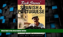 Big Sales  Rick Steves  Spanish and Portuguese Phrasebook and Dictionary (Rick Steves  Phrase