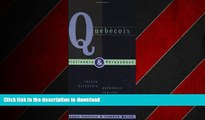 FAVORIT BOOK Quebecois Dictionary   Phrasebook: English-Quebecois/Quebecois-English (Hippocrene