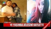 Genç kız kendine tecavüz eden üvey babasını öldürdü, annesini yaraladı