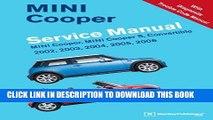 Best Seller MINI Cooper Service Manual: 2002, 2003, 2004, 2005, 2006: MINI Cooper, MINI Cooper S,