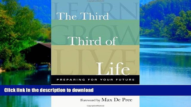 liberty books  The Third Third of Life: Preparing for Your Future online to buy