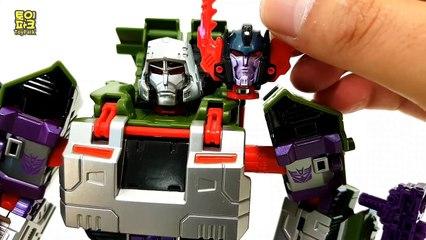 Transformers Generation Green Silver Black Colors Megatron Tank Vehicle Robot Car Toys