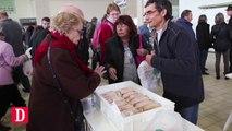 Ouverture du marché au gras de Gimont, dans le Gers