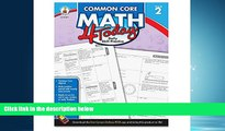 For you Carson Dellosa Common Core 4 Today Workbook, Math, Grade 2, 96 Pages (CDP104591)
