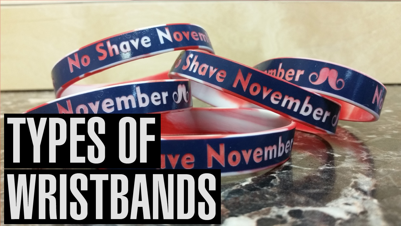 Types of Wristbands From Amazing Wristbands